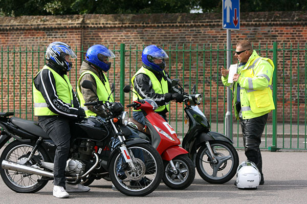 London motorcycle training