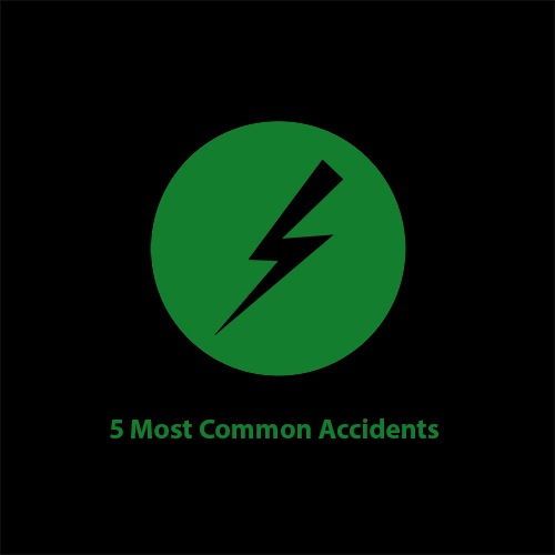 Motorcycle Training Library image for 5 Most common accidents